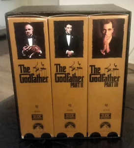 The Godfather Collection VHS Boxed set of 6 videos.