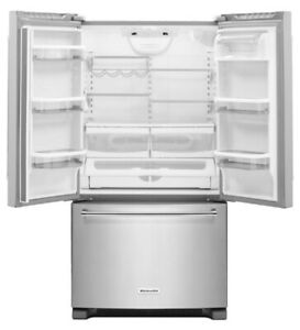 "Refurbished Kitchen Aid 36"" Refrigerator"