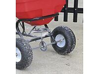 Sealey SPB80T Broadcast Spreader 80kg Tow Behind SALT SPREADER grit, salt , fertilizer and DE ICER