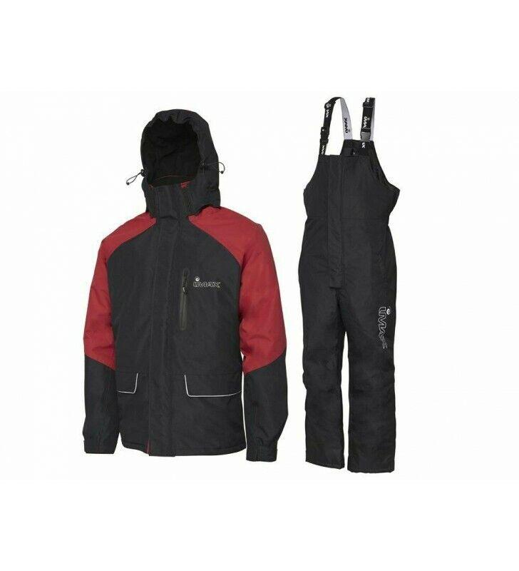 completo tuta IMAX termica invernale da pesca thermo suit salopette giacca