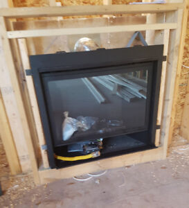 Gas Fireplace Install - $2500
