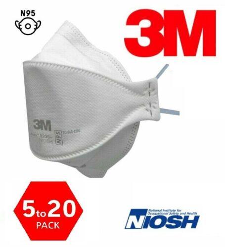 3M™ Aura 9205+ N95 Particulate Respirator Disposable Protective Mask NIOSH