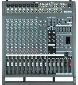 Console Yamaha EMX-5000 préamplifiée 1000 watts et 2 JBL 500