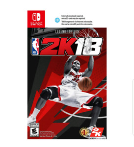 NBA 2K18 - Legend Edition (Nintendo Switch) SEALED