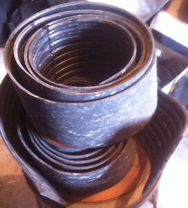 Thick rubber landscaping Trim