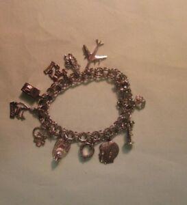 Bracelet et breloques en argent .925