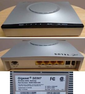 Wireless DSL modem router. Telus.