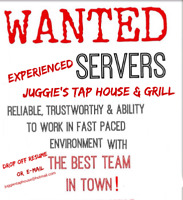 Servers Wanted