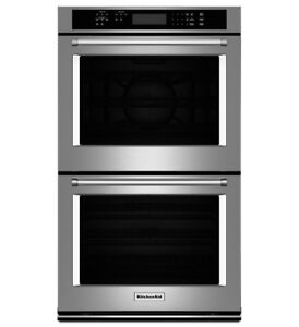 KitchenAid KODE500ESS Double Wall Oven with Even-Heat