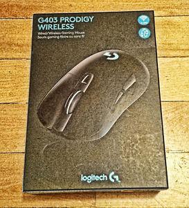 Souris Logitech G403 Prodigy pour le jeu avec et sans-fil - Neuf