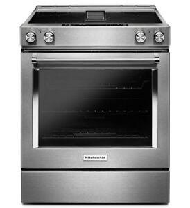 KitchenAid 30-Inch 4-Element Electric Downdraft Front Control