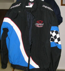 Men's Chevy Racing Jacket -size L, summer weight -as new