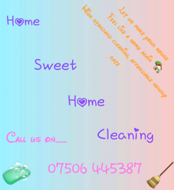 Home sweet home cleaners