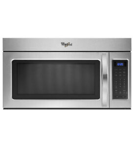 Whirlpool® 1.7 cu. ft. Over the Range Microwave with Hidden Vent