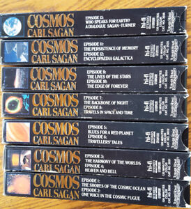 Cosmos A Personal Voyage complete collection with Carl Sagan