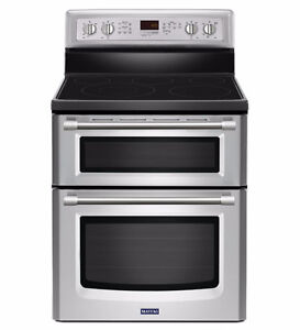 Cuisinière 30'', Four double, Convection, Stainless, Maytag