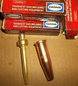 4 - VICTOR ACETYLENE CUTTING TIPS NEW 2pc DESIGN #1502073