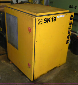 Rotary Screw Compressor at 15HP