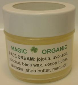 100% Organic Cream for Face & Body