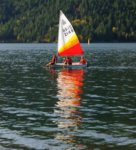 10' sailboat with trailer