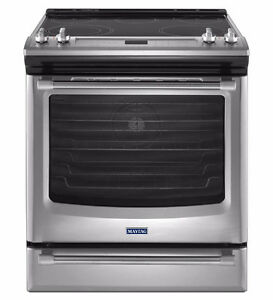 Cuisinière 30'' Stainless, Convection [Maytag]