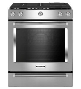 KitchenAid KSGB900ESS  30 inch, Self Clean, Convection Gas Range