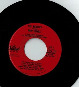 The Beatles Introduce New Songs - demo 45 rpm vinyl record