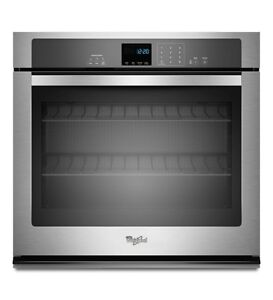 Whirlpool WOS51EC0AS Single Wall Oven, 30 in