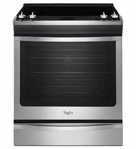 Whirlpool Stainless Steel 6.2 cu.ft. Slide-In Electric Range