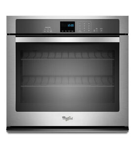 Stainless Steel WHIRLPOOL Wall Oven with SteamClean
