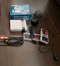 Brand New Retro Games System with 620 Games Built In inc Mario, TMNT