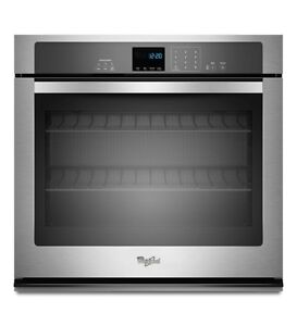 Whirlpool WOS51EC0AS Single Wall Oven, 30 in, 5.0 cu.ft