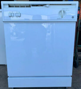 GE dishwasher, 1 year warranty