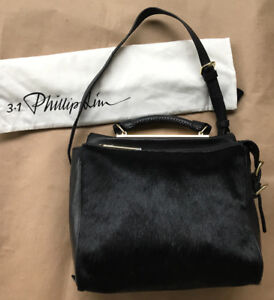 BRAND NEW Phillip Lim Small Ryder Bag Satchel in Black