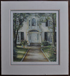 Trisha Romance THE PATHWAY signed numbered limited edition print