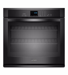 Whirlpool single wall oven