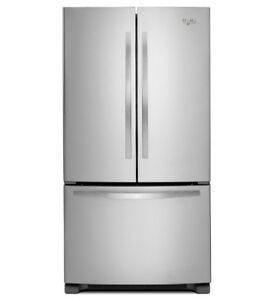 "Whirlpool WRF532SNBM 33"" French Door Refrigerator"