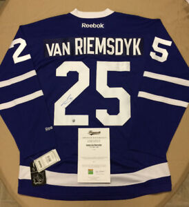 Autographed NHL Jersey with COA: Maple Leafs - VAN RIEMSDYK