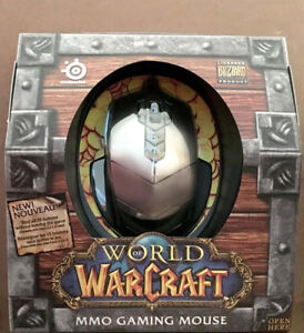 SteelSeries World of Warcraft MMO Gaming Mouse BNIB
