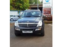 Ssangyong Rexton 2.7TD 4x4 2007 RX 270 S In Black