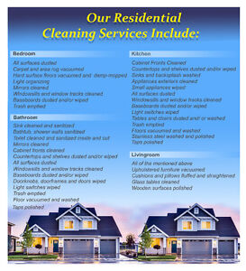 2 Experienced Residential Cleaners