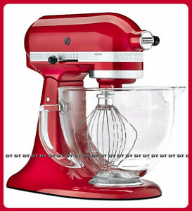 ⭆ KITCHENAID ARCHITECT METAL SERIES 5 QT RED NEW STAND MIXER ✋