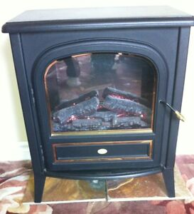 Dimplex Electric 1500W Stove/Heater with Artifical Rolling Flame Cambridge Kitchener Area image 2