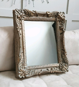 Beautiful Bronze Frame Mirror - Wall Decor