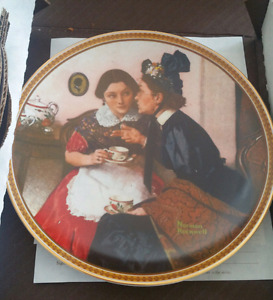 Norman Rockwell plates (for collectors)