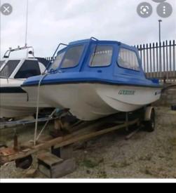 Fishing boat del Quay dory