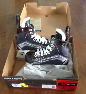 Like new! Bauer Vapor x500 hockey skates!!! (YTH 10.5) US 11.5
