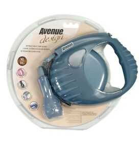 AVENUE DESIGN RETRACTABLE TAPE LEASH LARGE BREED 19 FT