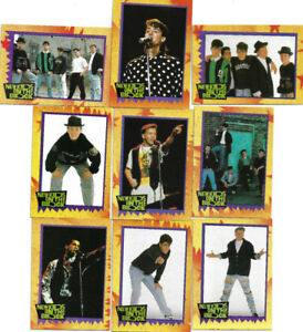 New Kids on the Block 88 Trading Card Set