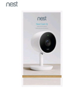 Brand new sealed Nest Cam IQ indoor security camera only 275$ !!